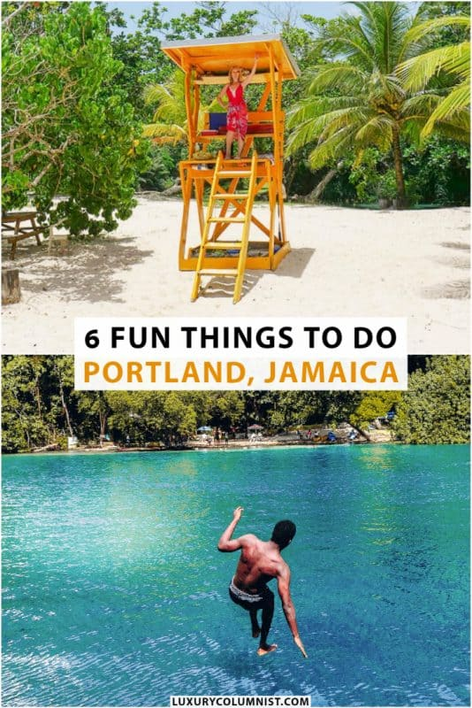 Fun Things to Do in Portland Jamaica | Frenchman's Cove, The Blue Lagoon, Boston, Portland | #Portland | #Jamaica | #CaribbeanTravel | #TravelDestinations