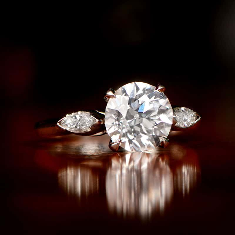 THE FASCINATING HISTORY OF THE DIAMOND ENGAGEMENT RING
