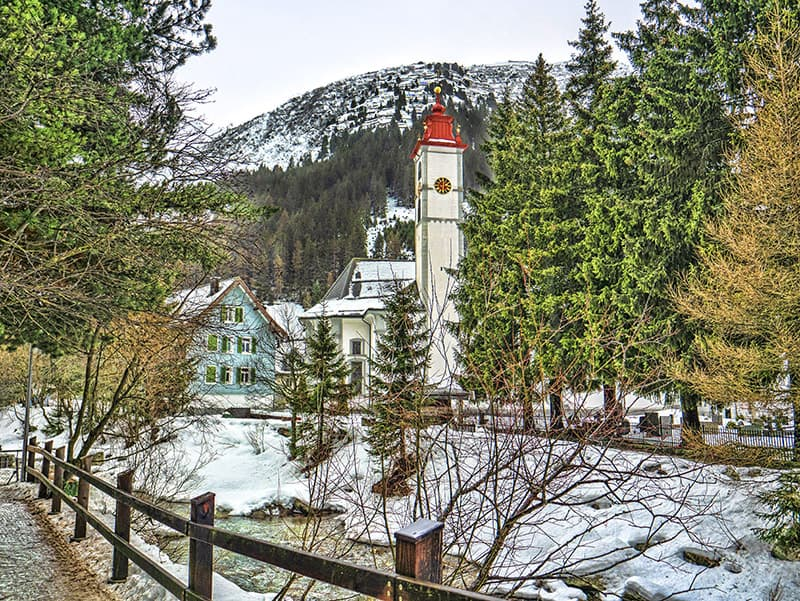 Andermatt village center