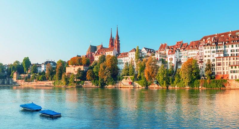 Basel city center