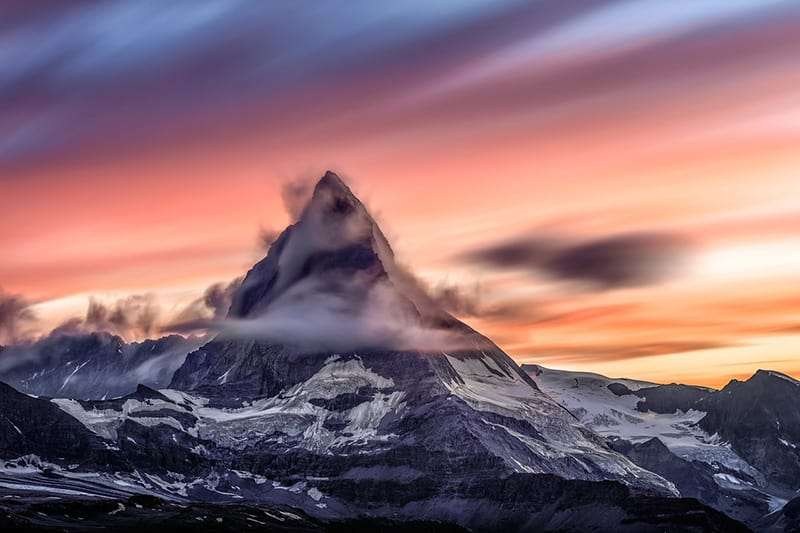 The Matterhorn mountain, Switzerland
