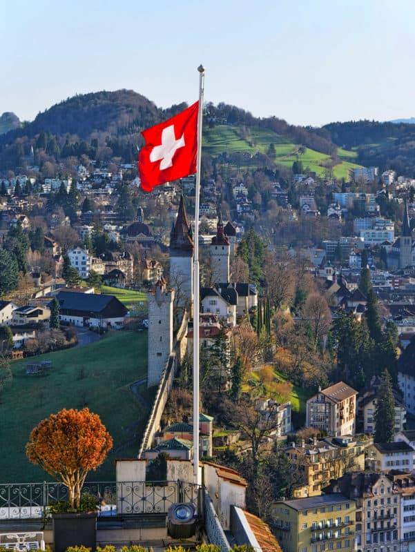 Mussegg Wall Lucerne