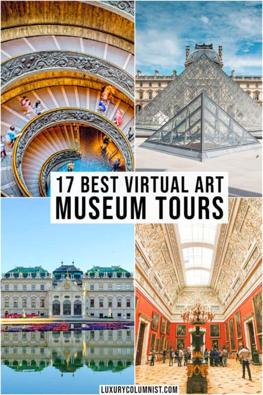 The best virtual art museum tours in the world   Great online digital guided art gallery and museum tours