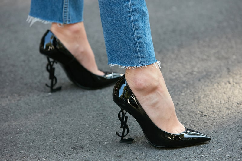 Yves Saint Laurent stiletto heels