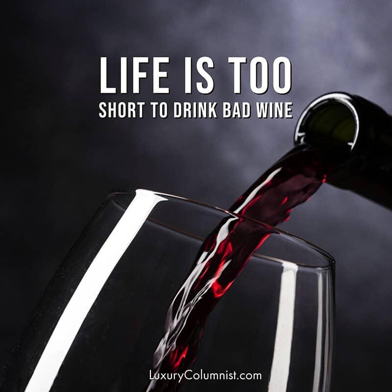 Stylish wine quotes