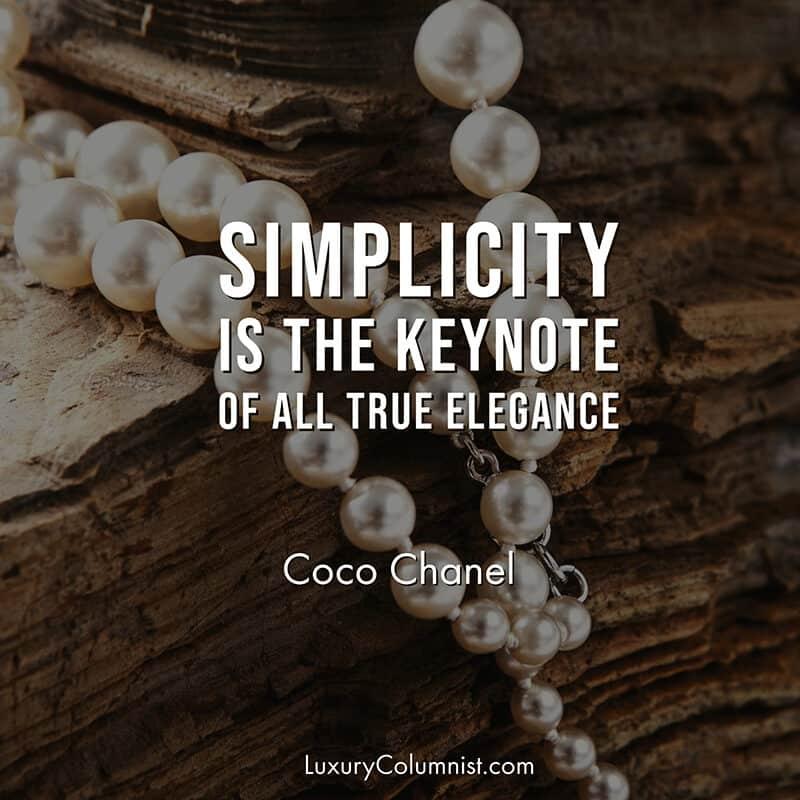 Classy Coco Chanel quotes