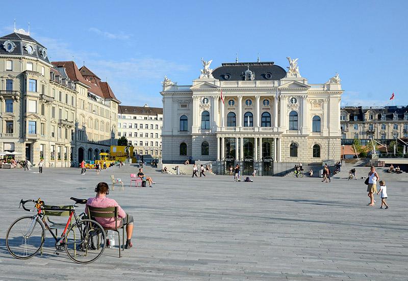 Zurich Opera House in Switzerland