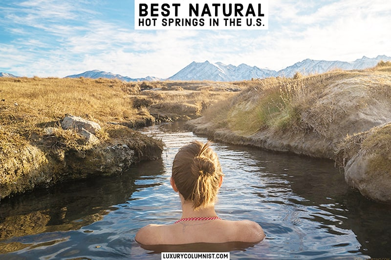 The best natural hot springs in the US