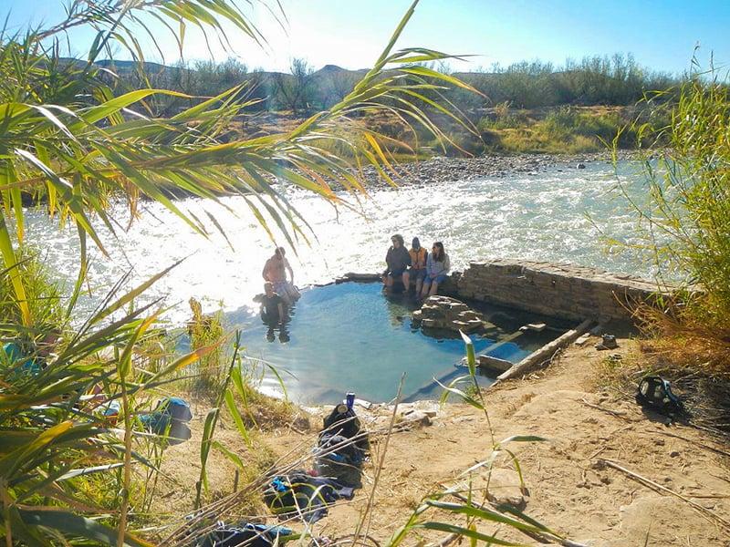 Langford Hot Springs in Big Bend National Park
