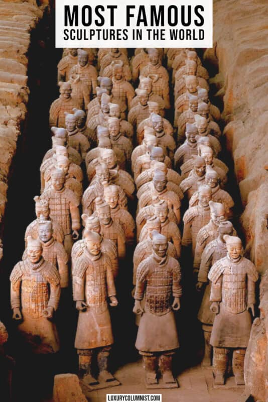 Most famous sculptures worldwide