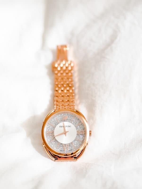 A Swarovski watch