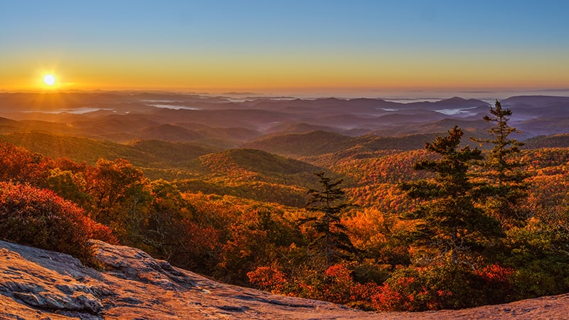 16 BEST FALL DESTINATIONS IN THE US