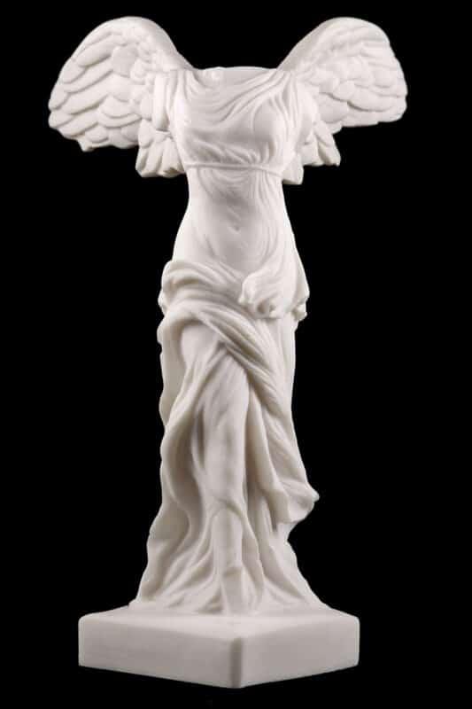 The winged victory ( Nike) of Samothrace