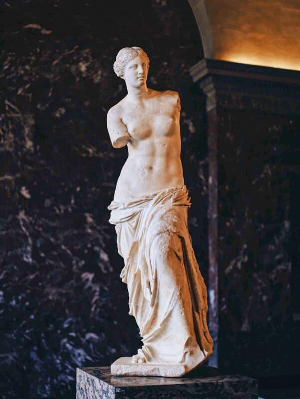 The Venus de Milo statue