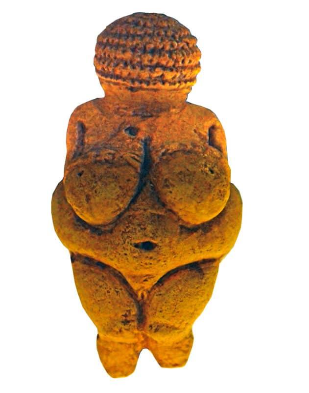 The Venus of Willendorf statue