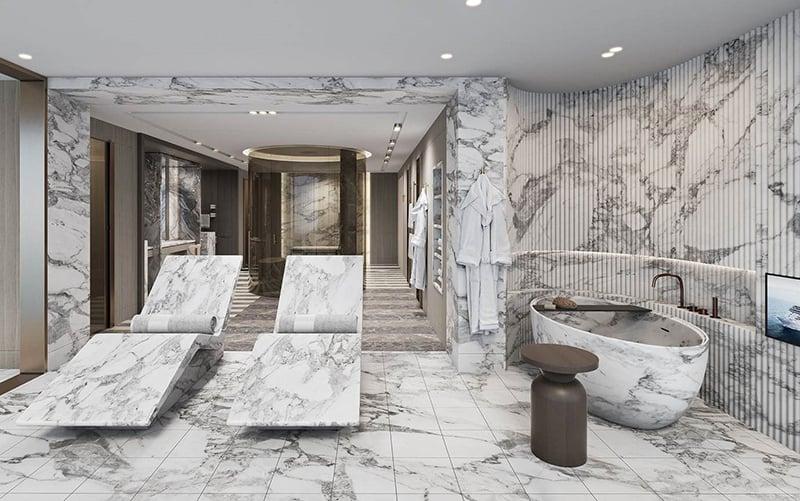 Seven Seas Grandeur Regent Suite bathroom