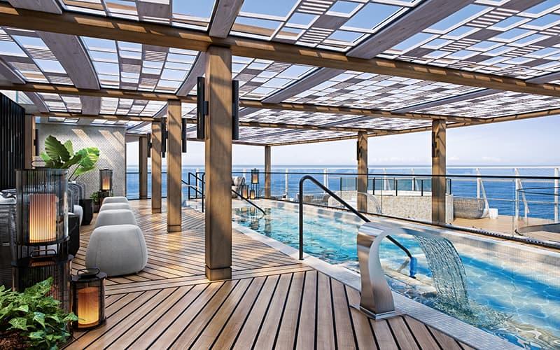 Aquamar Spa + Vitality Center on board Oceania Cruises Vista
