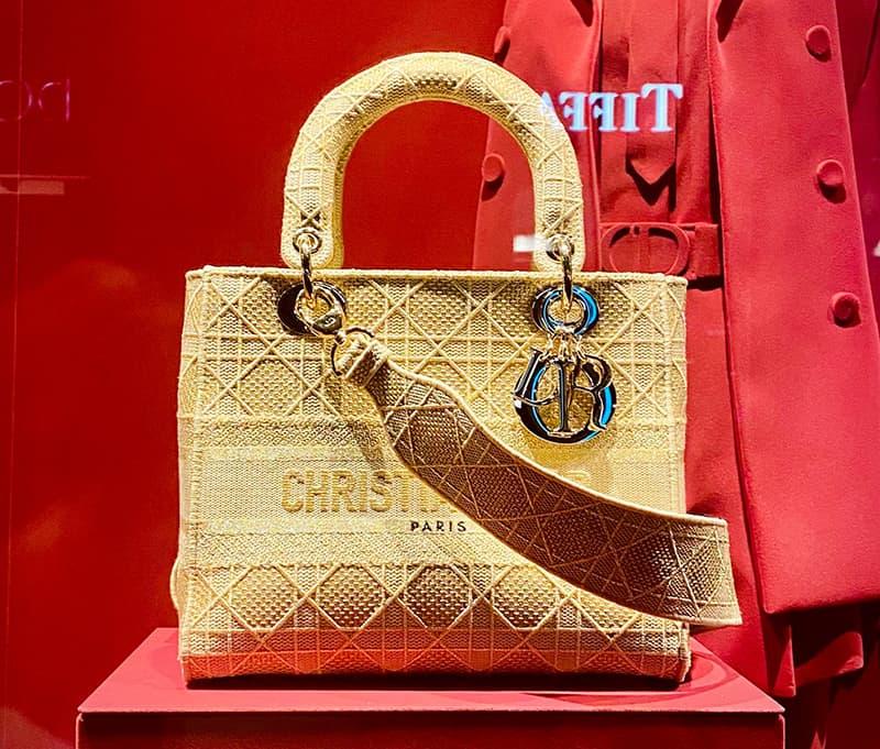 A Christian Dior handbag