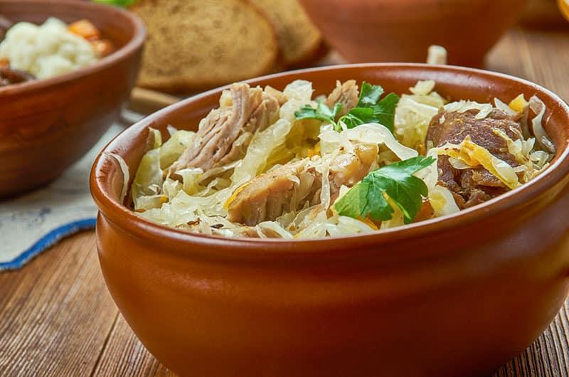 Mulgikapsas - sauerkraut with pork