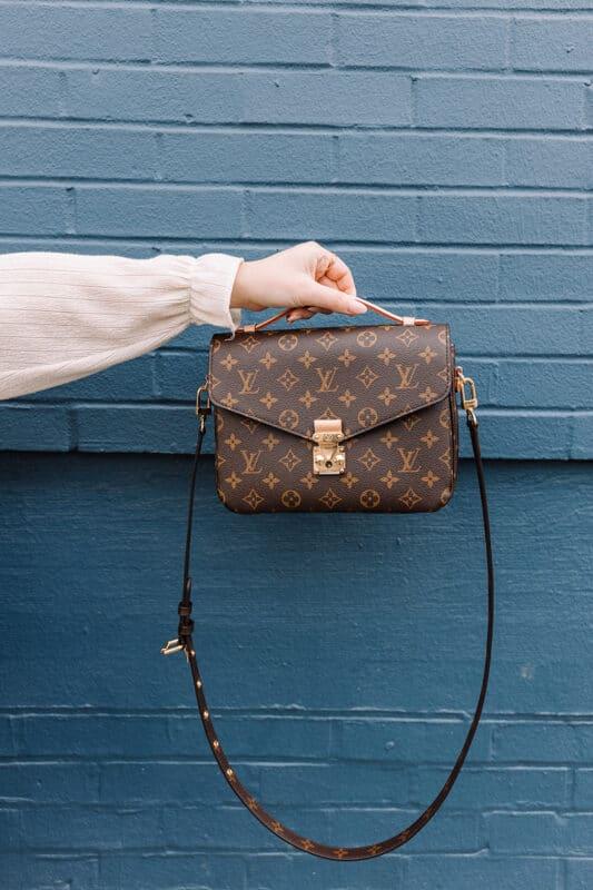 An iconic Louis Vuitton handbag