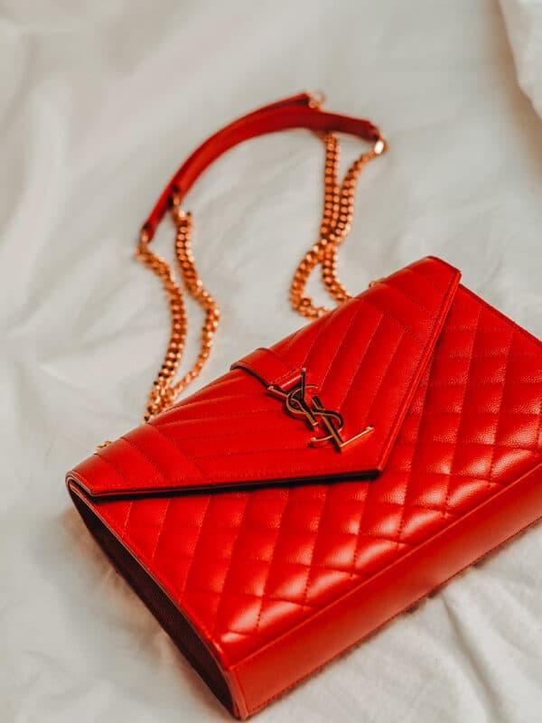 Yves Saint Laurent leather handbag
